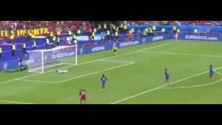 Portugal 1 x 0 França - GOLS - Euro 2016 - Final - 10/07/16
