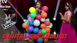Neha Kakkar Wrapped In Balloons | Moment | The Voice India Kids - Season 2