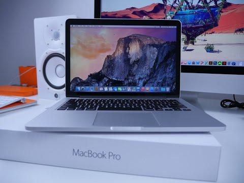 فتح صندوق  MacBook Pro 2015 وسعة تخزين 2TB بين بغداد وتركيا !