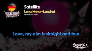 "Lena Meyer-Landrut - ""Satellite"" (Germany) - [Karaoke version]"
