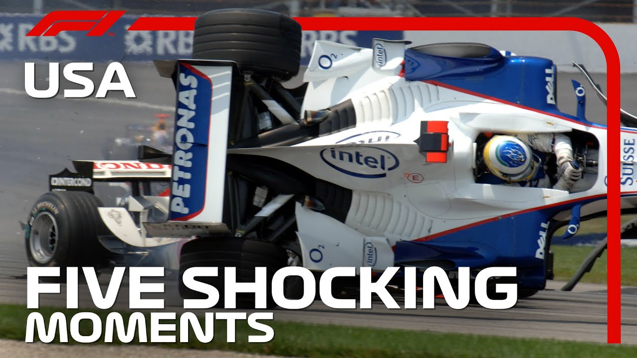 5 Shocking Moments from the United States Grand Prix