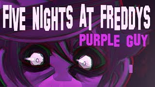 FNAF - Classic Purple Guy - Speedpaint