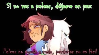 HIS THEME Undertale OST Asriel & Frisk Dueto ver español ft Dariadubs