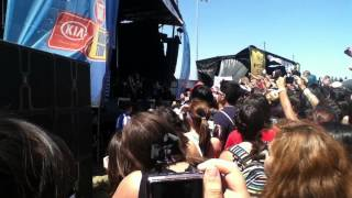 Warped Tour 2013 Blessthefall- 40 Days at Pomona Fairplex 6/20