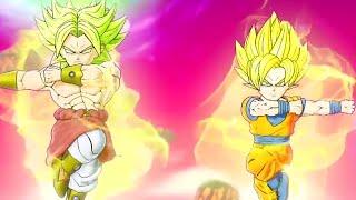Dragon Ball Fusions (3DS) -  Fusion Goku & Broly Teaser