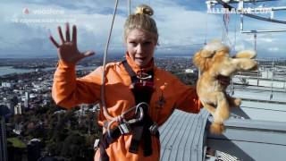 Vodafone Rugby Road Trip: Sky Tower walk