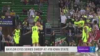 Baylor men's basketball eyes series sweep at #19 Iowa State