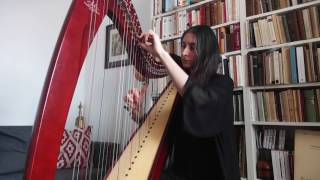 Departure (Lullaby) - The Leftovers - Max Richter harp cover