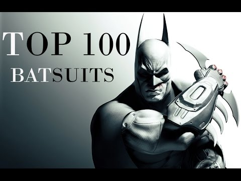 Top 100 Batsuits of all time