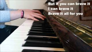 Raging - Kygo feat. Kodaline (piano cover+lyrics)