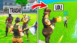 I Got Bullied For Being a Default, Then Showed My Renegade Raider and DESTROYED (Fortnite)