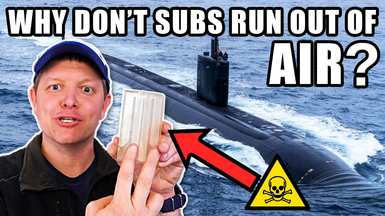 Here is a video that explains how How Nuclear Submarines Make Oxygen