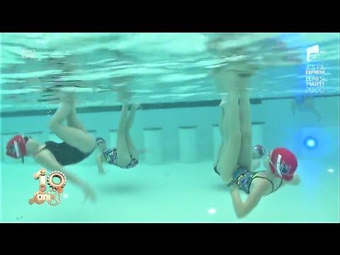Înotul sincron pentru copii