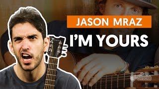 Videoaula I'm Yours (aula de violão completa)