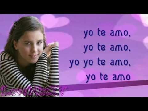 Yo Te Amo de Paulina Goto Letra y Video