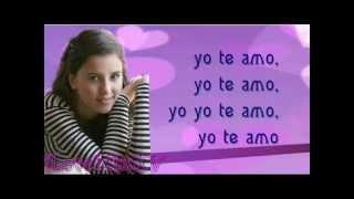 Paulina Goto - Yo te Amo - Letra