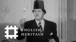 Tommy Cooper's Royal Routine