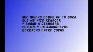 Pablo Alborán - Vuelve conmigo letra!!