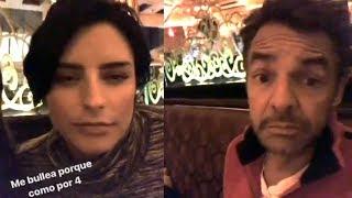 Eugenio Derbez revela cuanto come su hija Aislinn durante el embarazo