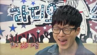 【TVPP】 Hyunwoo(Guckkasten) - 'Pulse' Live, 하현우(국카스텐) - 차트 심폐소생 위한 'Pulse' 라이브  @Radio Star