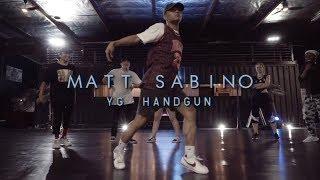 Matt Sabino | YG - Handgun | Snowglobe Perspective