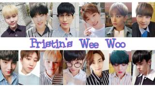 How Seventeen would sing to Pristin's Wee Woo