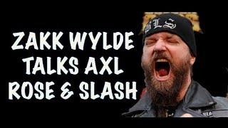 Guns N' Roses News:  Zakk Wylde Talks Axl Rose and Slash