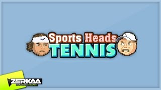 SPORTS HEADS TENNIS (WITH SIMON)