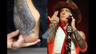 BUNBURY habla de su tatuaje de la Virgen con cara de muerte | RMX