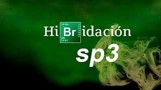 Imagen en miniatura para Hibridación sp3