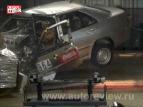 Chinese car crash test failure