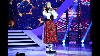 """Ți se face pielea de găină! Andreea Chișe cântă muzică folclorică la """"Next Star"""""""