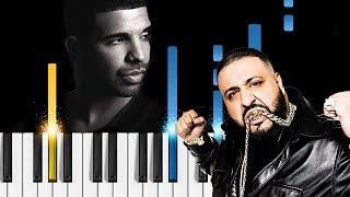 DJ Khaled & Drake - To the Max - Piano Tutorial
