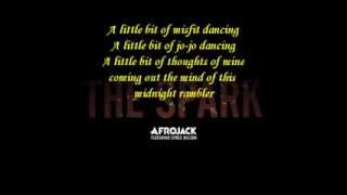 Afrojack ft Spree Wilson- The Spark (with lyrics)