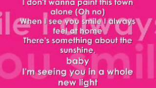 Sterling Knight & Anna Margaret - Something About The Sunshine (lyrics)
