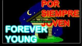 Forever young en español