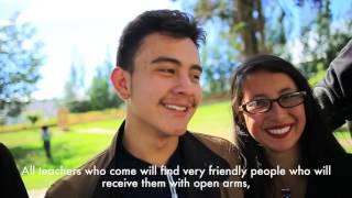 Formadores nativos extranjeros #ColombiaBilingüe 2017