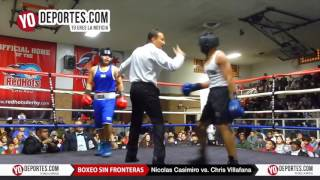 Nicolas Casimiro vs. Chris Villafana 2N1D Chicago