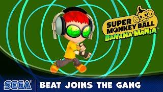 Super Monkey Ball: Banana Mania trailer reveals Beat from Jet Set Radio as playable character