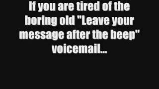 Greeting and voicemail download funny voicemail greeting for your phone m4hsunfo