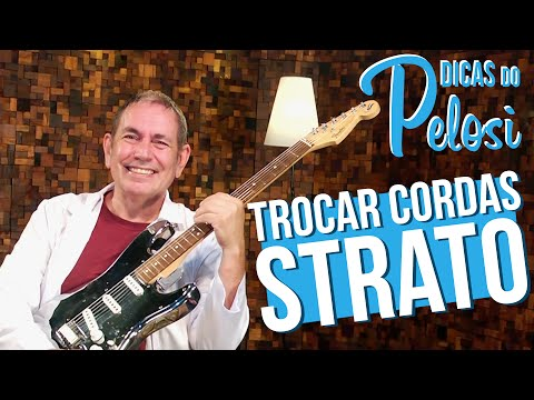 COMO TROCAR CORDAS DE GUITARRA STRATO