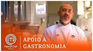 APOIO À GASTRONOMIA com Henrique Fogaça: SAL GASTRONOMIA | MASTERCHEF BRASIL
