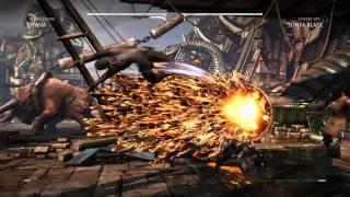 Mortal Kombat X: Kitana vs Sonya