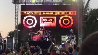 Blink-182 First Date Live SunFest West Palm Beach FL 2017