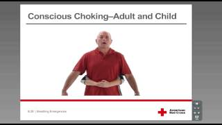 Conscious Choking - Adult and Child