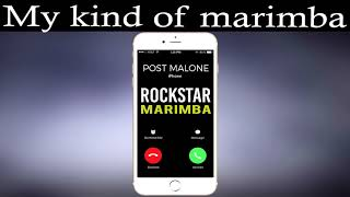 Latest iPhone Ringtone - Rockstar Marimba Remix Ringtone - Post Malone