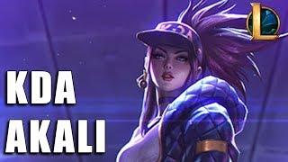 Akali K/DA - League of Legends (Completo)