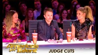 Chris Hardwick Returns To AGT Judge Cuts Despite Recent Controversy | America's Got Talent 2018