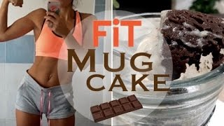 FiT MugCake 💪🏼PROTEiCA & CiOCCOLATOSA🍫iN 2 MiNUTi!! ●SmartiS●