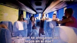 ESPANHOIS A RIR DOS GALEGOS POR CONSIDERALOS RAÇA INFERIOR